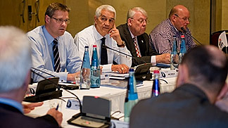 FIBA Europe Board Meeting - Malta, 19-20 March 2011 - Olafur Rafnsson, Nar Zanolin